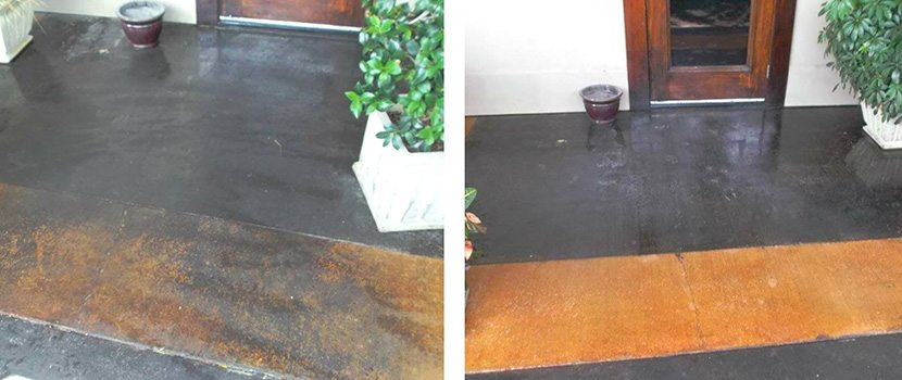 Concrete cleaning outdoor cleaning service for Concrete cleaning service